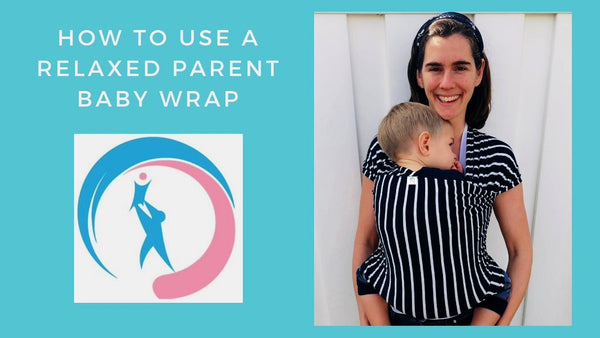 Baby wrap carrier | Stretchy baby wrap | Baby Carrier | Baby Sling Carrier | Baby Slings & Wraps | Relaxed Parent | Wrapping Rachel