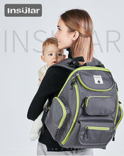Insular Diaper bag with Diaper Mat - Relaxedparent