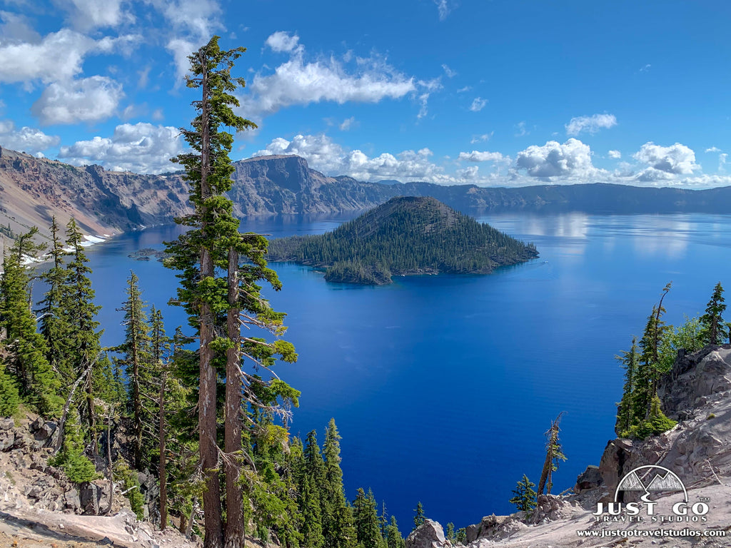 Crater Lake National Park – Wizard Island