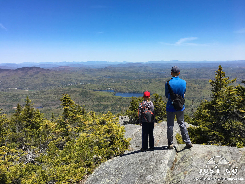 Winslow and Rollins State Parks - Mount Kearsarge Hike