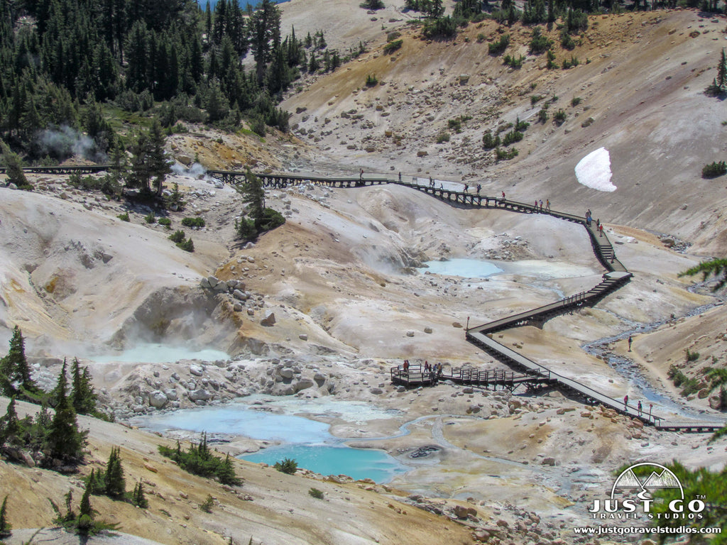 Just Go to Lassen Volcanic National Park - Bumpass Hell Trail