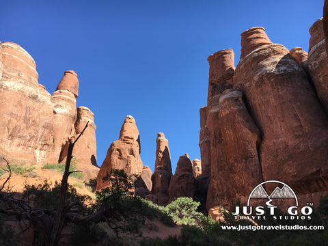 Just Go to Arches National Park - Hiking the Fiery Furnace Trail