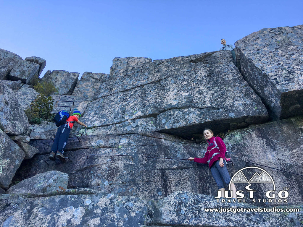 Just Go to Acadia National Park - Hiking the Precipice Trail