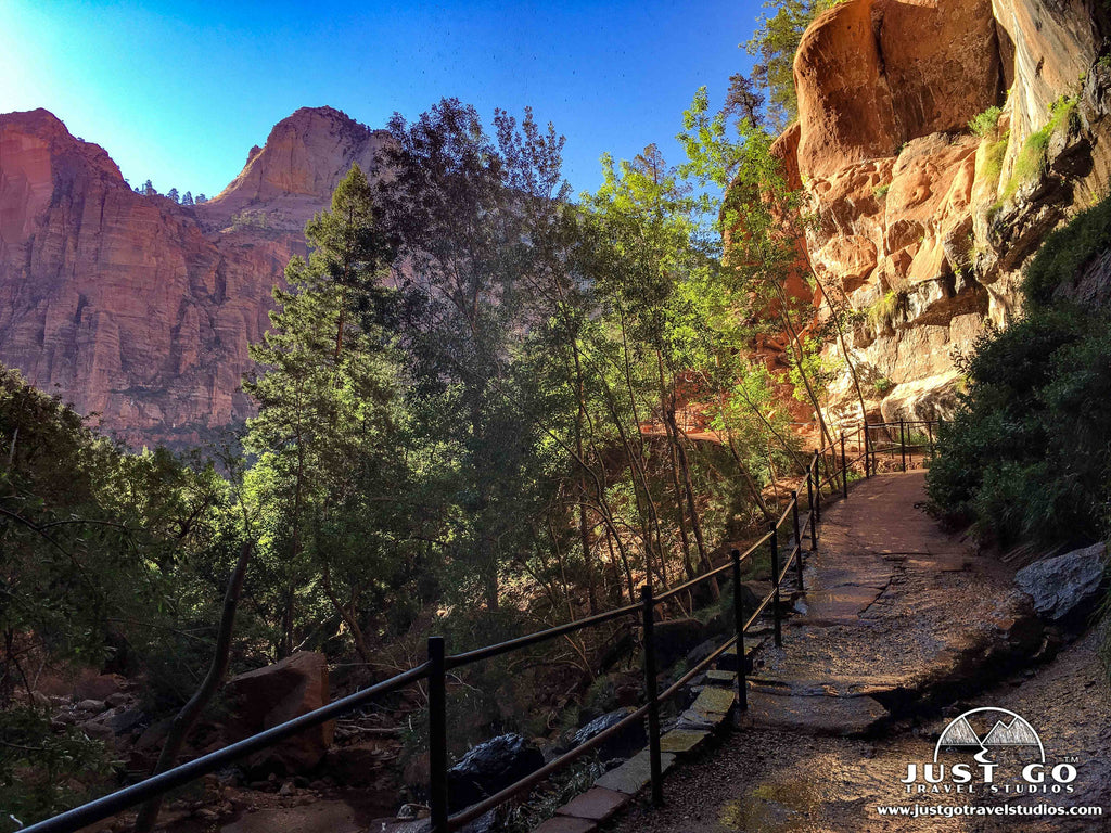 Just Go to Zion National Park - Emerald Pools Trail