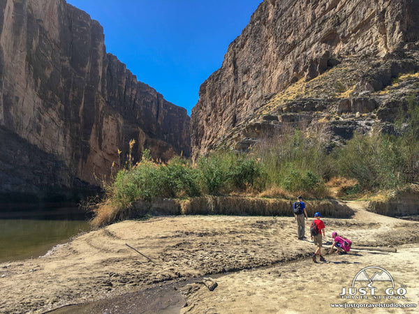 Santa Elena Canyon Trail in Big Bend