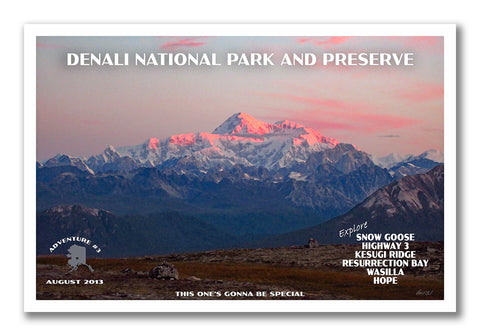 Custom National Park Posters by Just Go Travel Studios
