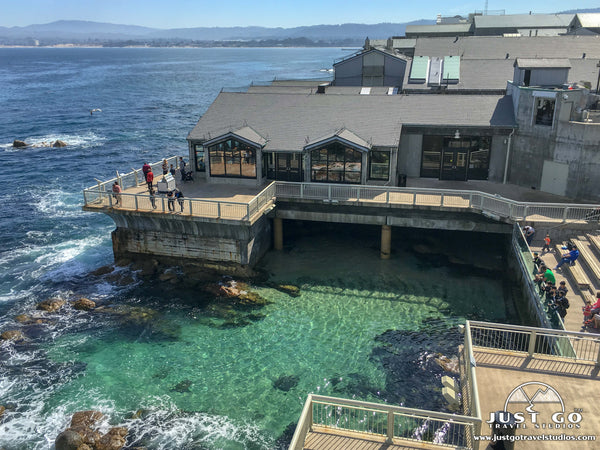 Monterey Bay Aquarium in California