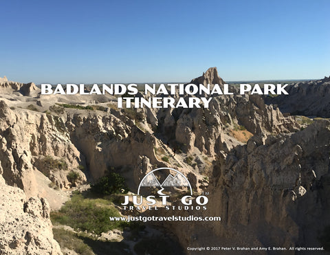 Badlands National Park Itinerary from Just Go Travel Studios