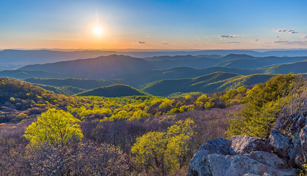 Bearfence mountain in Shenandoah National Park