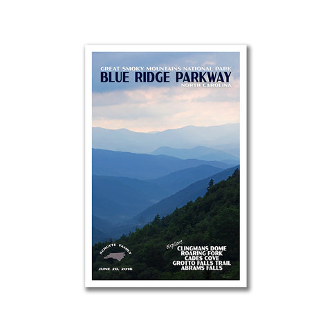 Blue Ridge Parkway National Park Poster