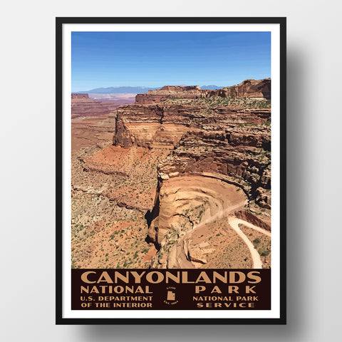 Canyonlands National park posters