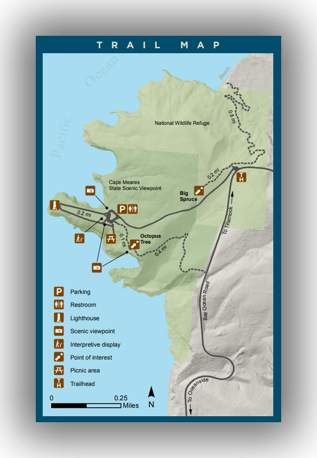 Cape Meares Map