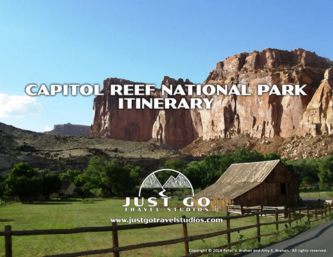 Capitol Reef National Park Itinerary