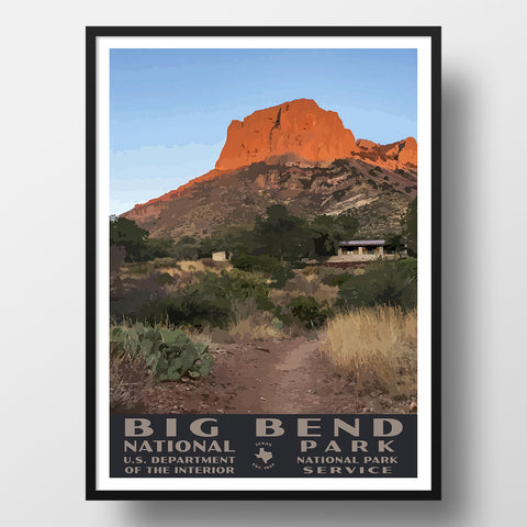 Big Bend National Park WPA Poster