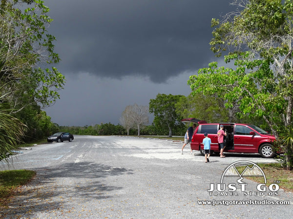 Storm clouds in Everglades National Park