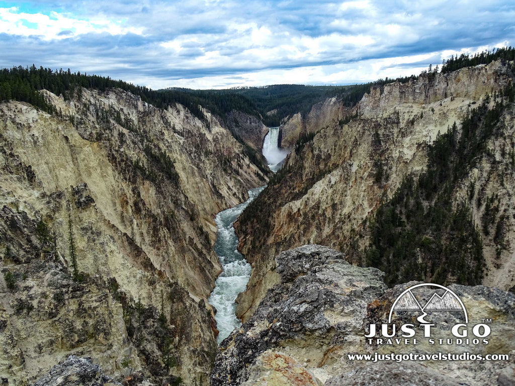 Grand Canyon of the Yellowstone, Artists Point