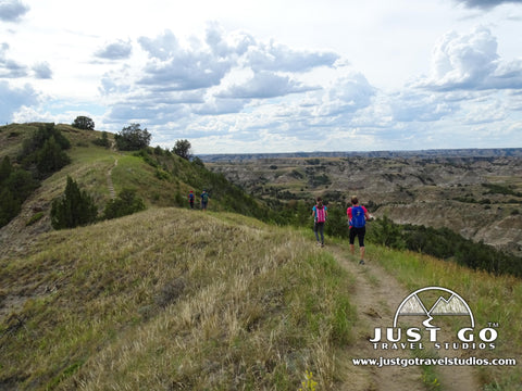 Ridgeline nature trail in Theodore Roosevelt National Park