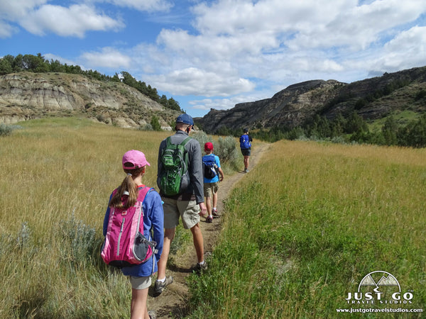 Hiking the Caprock Coulee Trail in Theodore Roosevelt National Park