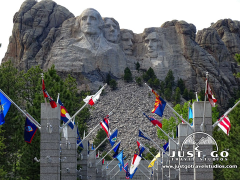 Mount Rushmore National Memorial in Rapid City, South Dakota