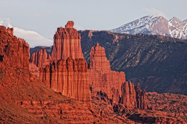 Fisher Towers in Utah