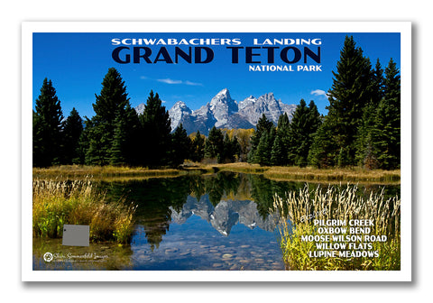Custom National Park Postcard