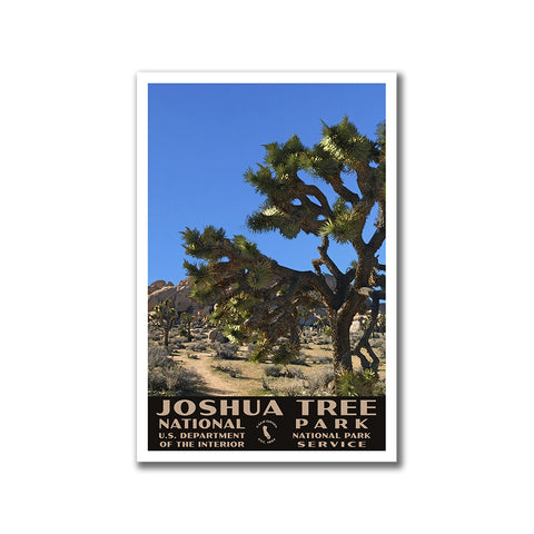 Joshua Tree National Park custom poster