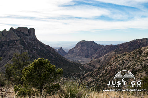Lost Mine Trail in Big Bend National Park
