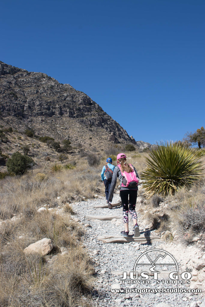 Devil's Hall Trail in Guadalupe Mountains National Park