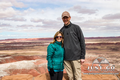 Just Go Travel Studios in Petrified Forest National Park