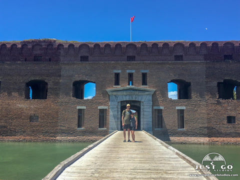 amy and pete in dry tortugas national park