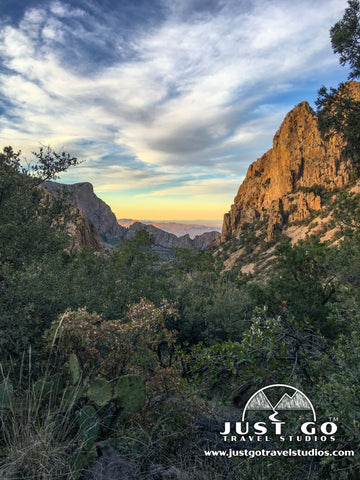 View from the Lost Mine Trail in Big Bend National Park