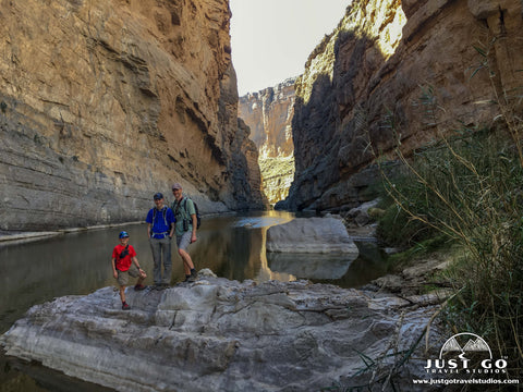 Santa Elena Canyon in Big Bend National Park