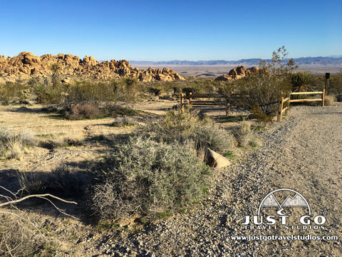 Indian Cove Nature Trail in Joshua Tree National Park