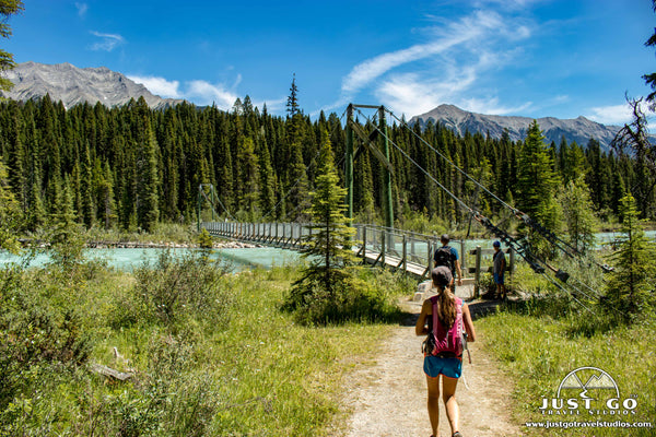 Kootenay National Park dog lake hike