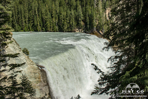 Wapta Falls in Yoho National Park