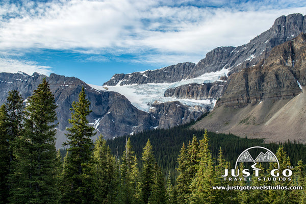 Crawfoot Glacier in Banff National Park