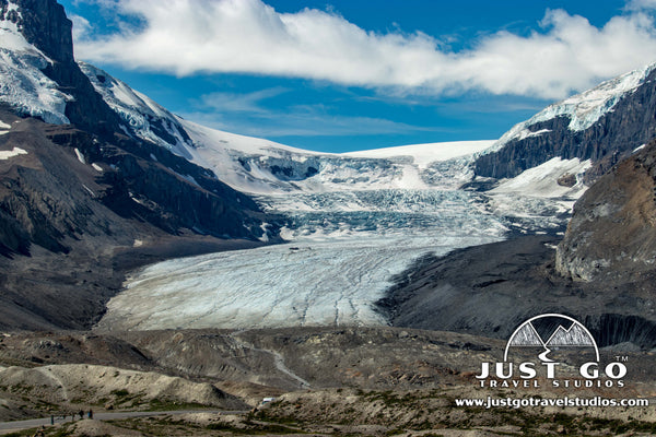 Columbia Icefields in Banff National Park