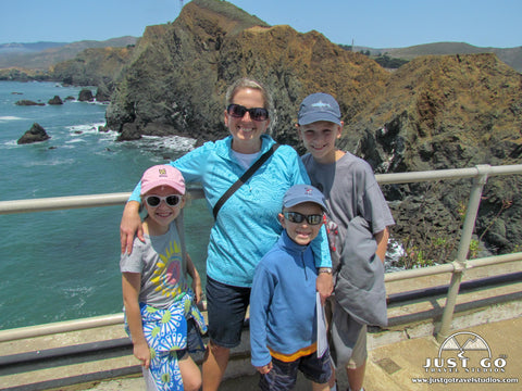 Point bonita lighthouse trail, just go travel studios