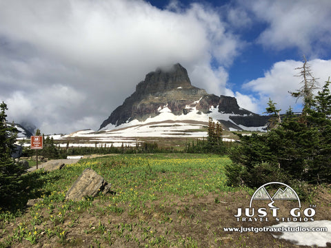 Bearhat Mountain in Logan Pass