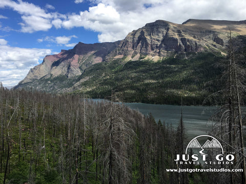 Hike to St. Mary Falls in Glacier National Park