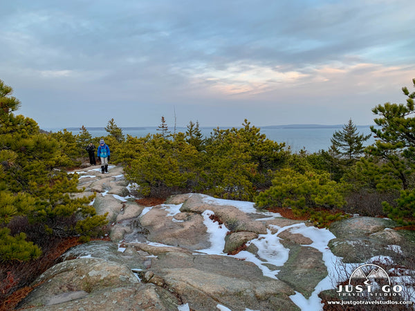 Great Head Trail in Acadia National Park