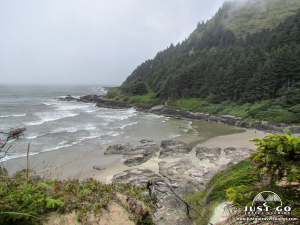 Cape Perpetua shoreline