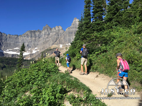 Hiking to Iceberg Lake in Glacier National Park