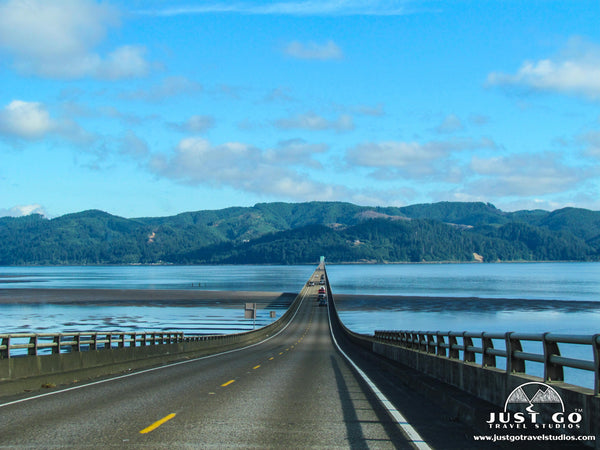Astoria-Megler Bridge in Oregon