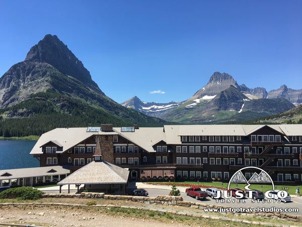 Many Glacier Hotel in Glacier National Park