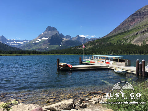 Swiftcurrent Lake in Glacier National Park
