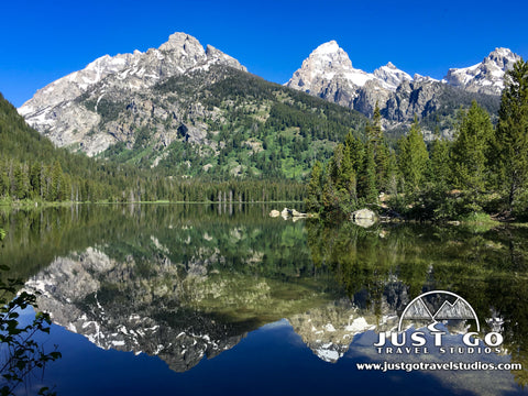 Taggart Lake in Grand Teton National Park