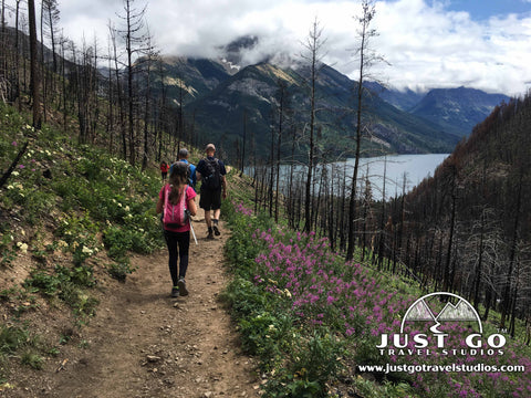 Hiking in Waterton Lakes National Park