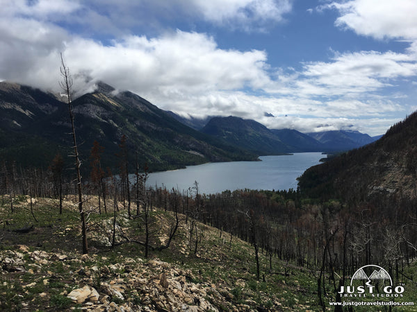 Waterton Lakes National Park Wildfire