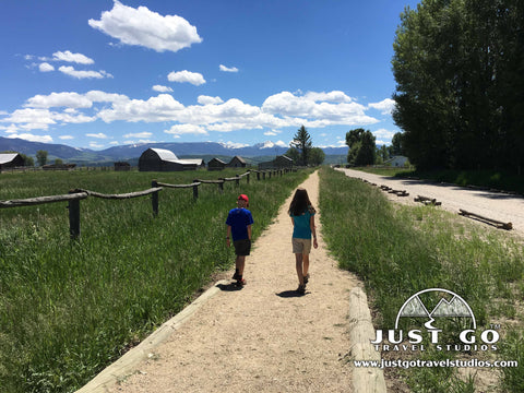 Visiting Mormon Row in Grand Teton National Park
